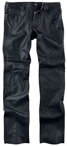 Gipsy GBJeans LNTV Männer Lederhose schwarz L 100% Leder Basics