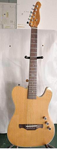 Wuyuana Guitarra Fina Cutway Cuerpo De La Guitarra Eléctrica Clásica Guitarra Clásica En Silencio Guitarra eléctrica (Color : Acoustic, Size : 39 Inches)