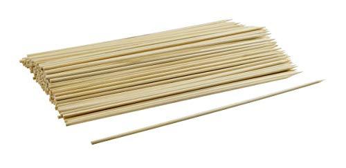 Fackelmann 56641 Lot de 300 Brochettes Bambou Beige 20 cm