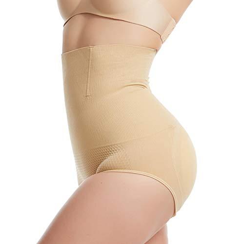 ZNYH Pantalones de cintura alta para abdominales falsos a tope de cadera para levantamiento de glúteos ampliados, paquete de levantamiento de cadera, tono de piel de coche, XL / 2XL