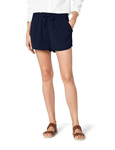 Only Onlturner Shorts Wvn Noos Pantalones Cortos, Azul (Night Sky Night Sky), 40 (Talla del Fabricante: 38) para Mujer