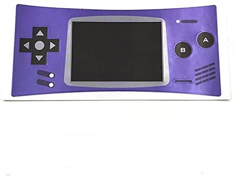 Etiqueta engomada para GBM GameBoy Micro Consola Carcasa Panel frontal Etiqueta de...