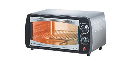 Bajaj 1000 TSS 10-Litre Oven Toaster Grill (Silver/Black)