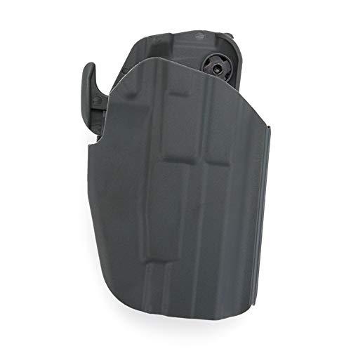Huenco Pistola táctica Militar de plástico para Caza Airsoft Paintball Ejército de Combate GLOCK19 23 Soportes de película