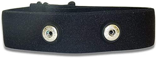 Fitness Prince© F.P. Verstellbarer, elastischer Ersatz Brustgurt für Herzfrequenzmessgerät Sport, Laufen