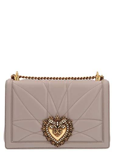 Luxe Mode | Dolce E Gabbana Womens BB6651AV9678H062 Grijze Schoudertas | Seizoen Permanent