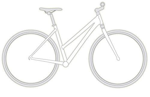 "vsf fahrradmanufaktur T-100 Shimano Alivio 27-G HS11 Trekking Bike 2021 (28\"" Damen Trapez 50cm, Ebony Matt (Damen))"