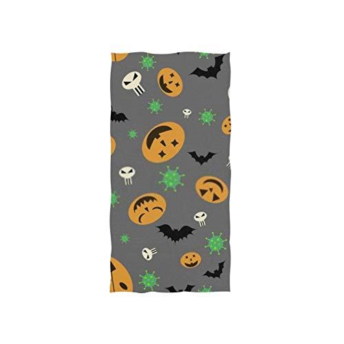 ZANSENG Toallas de Mano 30x15in, patrón sin Costuras Células de Halloween Otra Toalla de baño Fina para Nadar, Toalla de baño pequeña Muy Absorbente y Suave para baño, Hotel, Gimnasio y SPA
