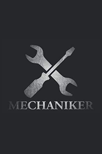 Mechaniker: Cooles Mechaniker Notizbuch, Logbuch und Journal für Handwerker, Schrauber, Bastler und Macher. Kleine Mechaniker Geschenke für Männer für ... 6\'\' x 9\'\' (15,24cm x 22,86cm) DIN A5 Kariert