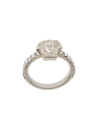 Luxury Fashion | Versace Dames DG5E544DJMXD0OC Zilver Metaal Ringen | Lente-zomer 20