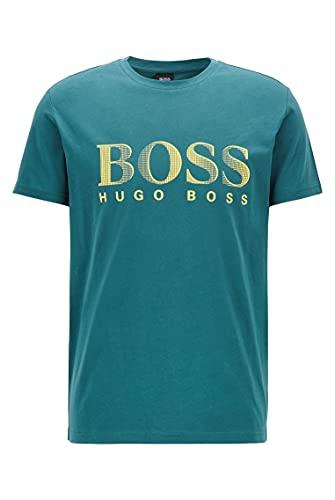 BOSS T-Shirt RN Camiseta, Verde (Dark Green 304), XX-Large para Hombre