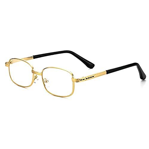 ZJYWAN Gafas de lectura Completo Marco Estilo Acero Computadora Lectores, para De Lectura Ayuda de Lectura, para Presbicia Hombre Mujer