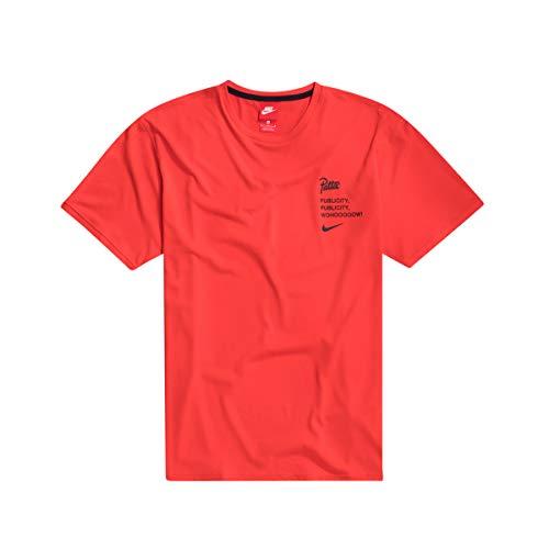 Nike M Nike X Patta Top - habanero red, Größe:M