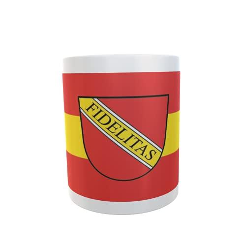 U24 Tasse Kaffeebecher Mug Cup Flagge Karlsruhe