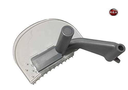 Braccio pressa merce para dito per Affettatrice RGV 9201 PVC pressa ferma carne salumi in plastica