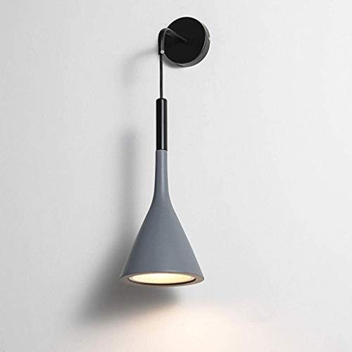 DYXYH Terminado Sola Aplique Antiguo lámpara de Pared lámpara de Pared lámpara de Pared Retro Moderno de Bronce Antiguo artefacto de iluminación de Noche for el Dormitorio