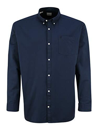 SELECTED HOMME Herren SLHREGCOLLECT Shirt LS W PS Hemd mit Button-Down-Kragen, Moonlit Ocean, 3XL
