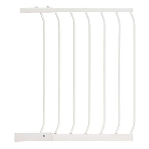 Dreambaby 21 in. White Chelsea Extension