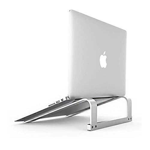 Aluminum Laptop Stand for Desk,Ergonomic Computer Riser for 12 13 15 16 17 Inch, Computer Cooling Stand for Mac MacBook Pro Air, Lenovo, HP, Dell