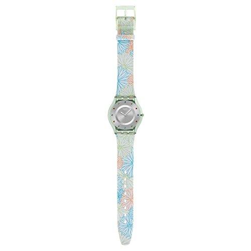 Muestra de tela reloj de Mujer piqué-nique SFG105
