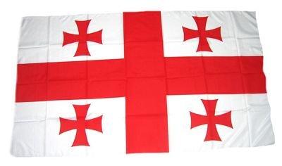 Flagge Fahne Georgien 30 x 45 cm FLAGGENMAE®