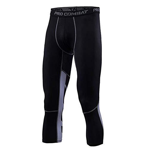 duoying Pantalones Cortos Ajustados Leggings Pantalones de Compresión Fitness Gym Top Transpirable al aire libre