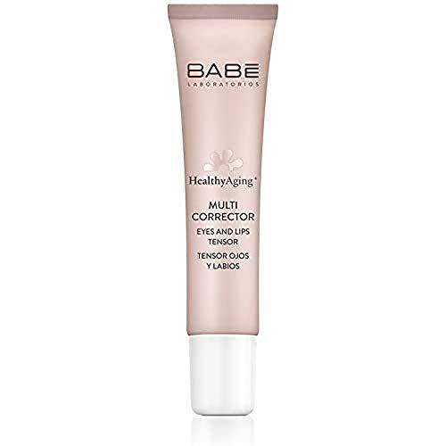 Laboratorios Babé - Multi Corrector Tensor Ojos y Labios 15 ml   HealthyAging+   Antiarrugas   Elimina Bolsas y Ojeras   Efecto Tensor Boca  Hidratación y Elasticidad   Reafirmante