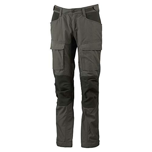 Lundhags Authentic II Pantalon Femme, Forest Green/Dark Forest Modèle DE 18 (Short Size) 2021