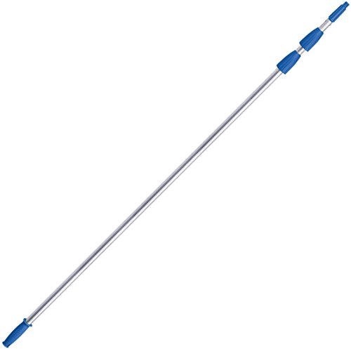 Unger Professional Connect & Clean 7 - 20 Foot Telescoping Extension Multi-Purpose Pole, Window Cleaning, Dusting
