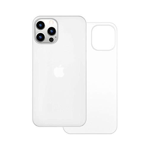 【CASEFINITE】 Frost Air フロストエア iPhone 12 Pro Max 対応 アイスホワイト 薄型 ケース FA1267W