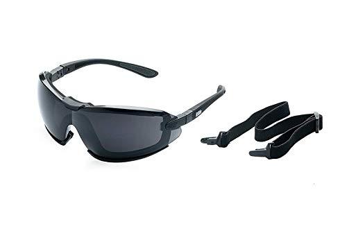 Alpland Sport Sonnenbrille Skibrille Gletscherbrille, Bergbrille mit Sonnenschutzfaktor 4 inkl. Softbag