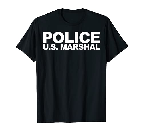Policía de Marshal de los Estados Unidos Camiseta