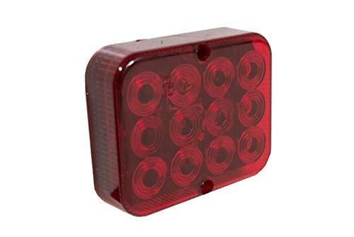 Luz antiniebla trasera universal 12 V 24 V LED rojo remolque caravana MP8631b Maypole