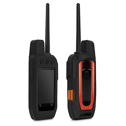 kwmobile Cover in silicone compatibile con Garmin Alpha 200i - Custodia protettiva antiscivolo compatibile con dispositivi GPS di navigazione - Protezione navigatore