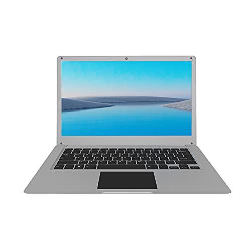 KUU SBOOKM Ordenador Portátil 13.3'', Notebook Intel Atom x7-E3950, 6GB RAM DDR3 128GB SSD, Ultrafino Portátil con Windows 10, Monitor de PC portátil FHD con USB 3.0 y Bluetooth 4.0, HDMI