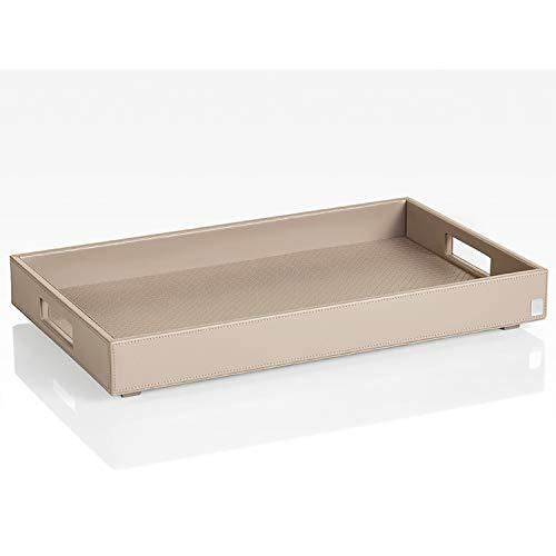 JOOP! HOMELINE, Tablett L für Beistelltisch mit klappbarem Untergestell, Grau