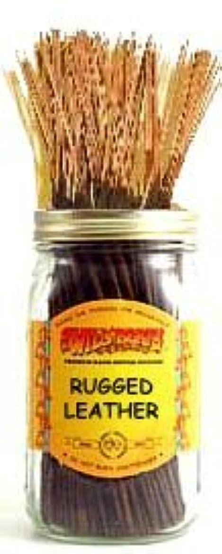 始める状態ねばねばRugged Leather - 100 Wildberry Incense Sticks [並行輸入品]