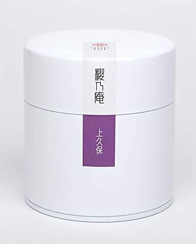 奈良県月ヶ瀬産 お茶 上久保 高級 煎茶 特撰 大和茶 40g入り 缶