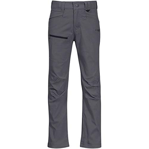 Bergans Lilletind LT Softshell Pantalon Enfant, Solid Dark Grey/Solid Charcoal Taille Enfant 104 2020