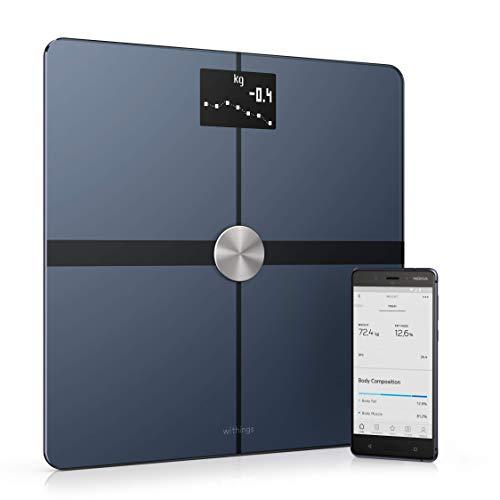 Nokia Body+ - Bilancia Wi-Fi con Indicazione della Composizione Corporea, Nero