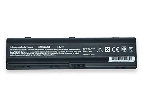 Batería para HP Compaq Presario F700, F500, A900, C700, V3000, V3500, V3600, V6000, V6200, V6300, V6400 de 5200 mAh 10.8 V – 11.1 V