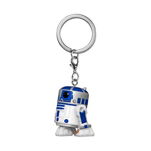 Funko 53058 Pop Llavero: Star Wars - R2-D2