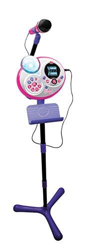 VTech - Kidi Superstar Micrófono de Juguete, AA, 163 mm, 800 mm,, versión...