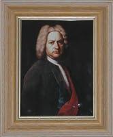 BiblioArt Series J. S. バッハの肖像画ーA5サイズ額装品