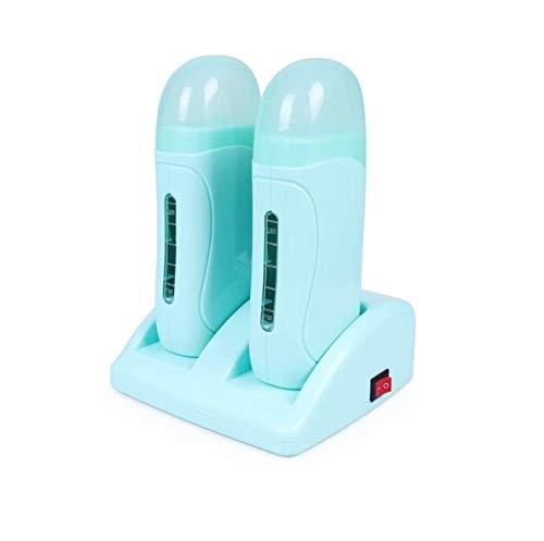 Cartucho - Calentador Cera Tibia depilación de cartucho Roll On (VERDE 2 Rolones)