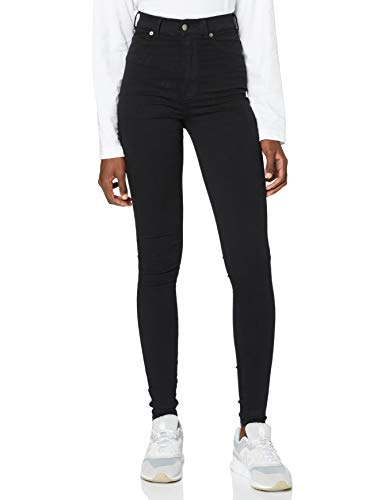Dr. Denim Damen Solitaire Jeans, Black, S