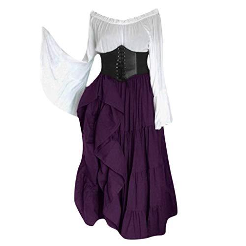 brautkleid Gothic blusenbody beige Wickelbluse Langarm Long Dresses for Women Party Sweatshirt Gothic Bandeau Kleid lila Damen Smoking schwarz