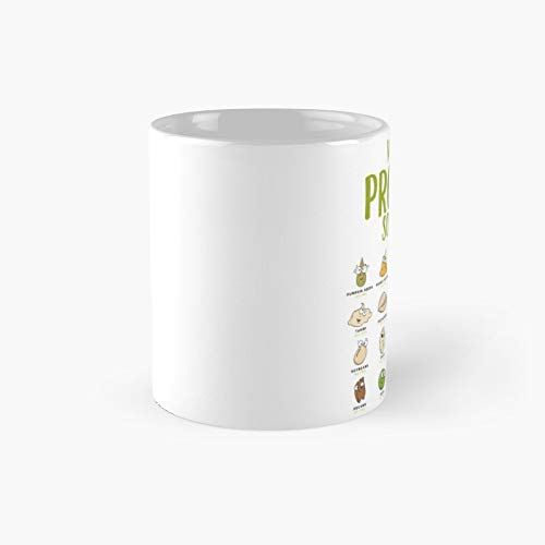 Vegan Protein Sources Classic Mug - A Novelty Ceramic Cups Inspirational Holiday Gifts For Morther's Day, Men & Women, Him Or Her, Mom, Dad, Sister, Brother, Coworkers, Bestie.