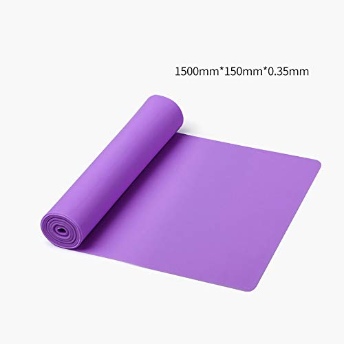 lonelymen Resistance Band Set, Übungswiderstandsbänder, Heavy Workout Fitness Bands Für Physiotherapie Krafttraining Yoga Fitness,Purple-22LB