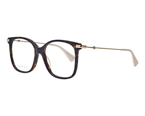 montatura occhiali da vista donna gucci Gucci Occhiali da Vista GG0512O DARK HAVANA 52/16/145 donna